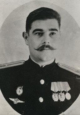Бойченко Михаил Ильич. 1944 год. Фото из семейного архива Бойченко А.М.