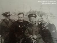 Третий слева Борисов А.А., четвертый слева Климов П.Д.