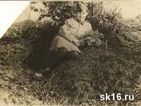 Галя Бусырева. Ваенга 1943 год.